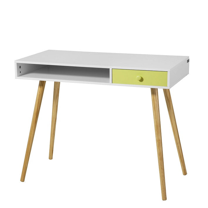 SoBuy desk table white desk white FWT24-W