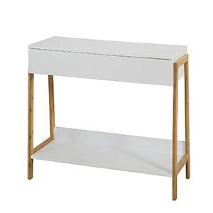 SoBuy Hallway Entrance Console Table with One Large Drawer W80 * D34 * H77cm FWT48-WN