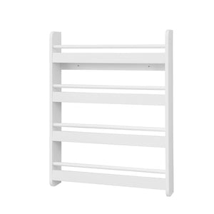 SoBuy Bookshelf Magazine Rack Kids Bookshelf White Kmb08-KW