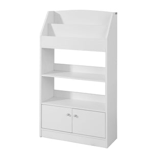 SoBuy magazine rack white children's bookcase KMB11-W