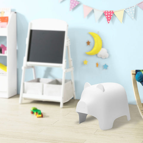 SoBuy children's chair Colored chair white children's stool Pig Shape KMB14-W