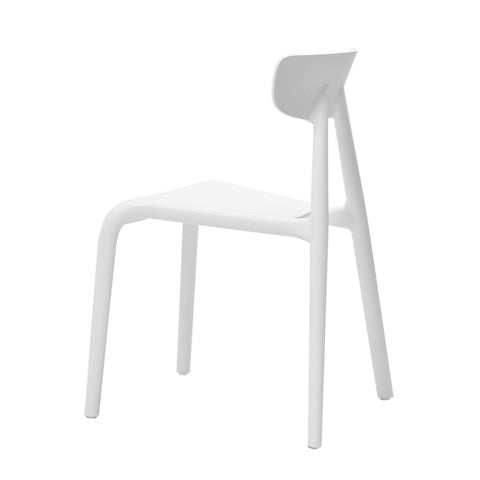 SoBuy Set 2 Children's Chairs Colored chair white children's stool KMB15-WX2