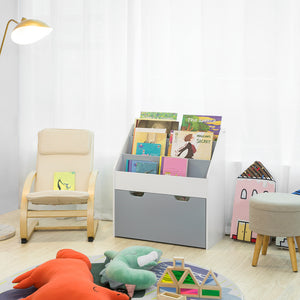SoBuy Montessori bookcase for children Magazine rack KMB17-HG