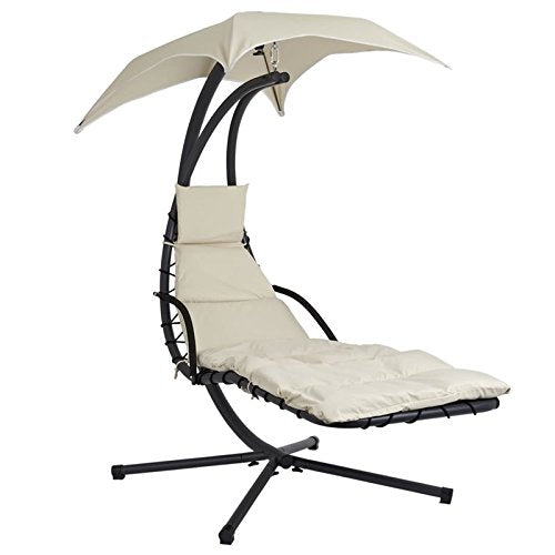 SoBuy Extra Luxury Relax Garden Hammock, Sun Lounger, Rocking Chair, OGS16