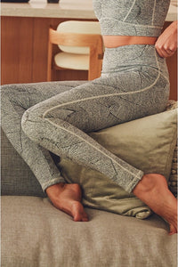 Zen Garden Jacquard Highwaist Leggings