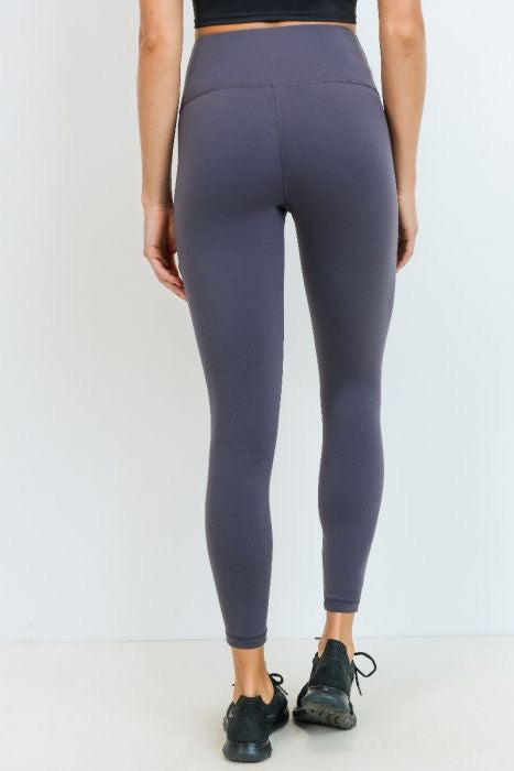 Highwaist Lycra-Blend Essential Leggings
