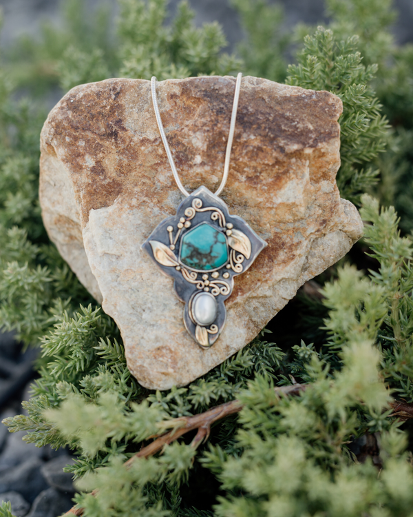 One of Angie's Favorites:  Taos Splendor Pendant