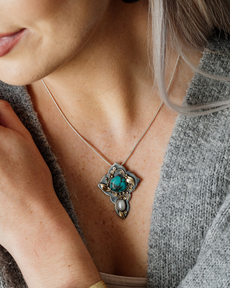New! Taos Splendor Pendant