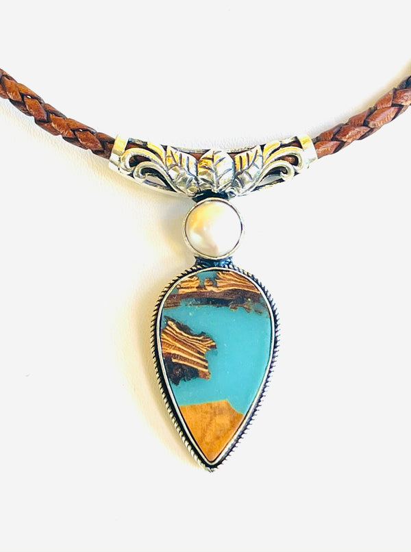OUR NEWEST WEARABLE ART: The Peace Pendant
