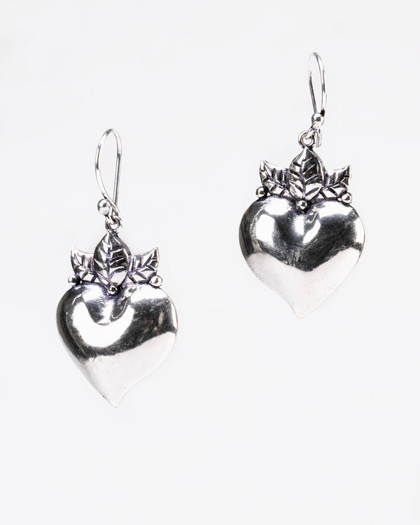 A Customer Favorite: Silver Pure Love Earrings