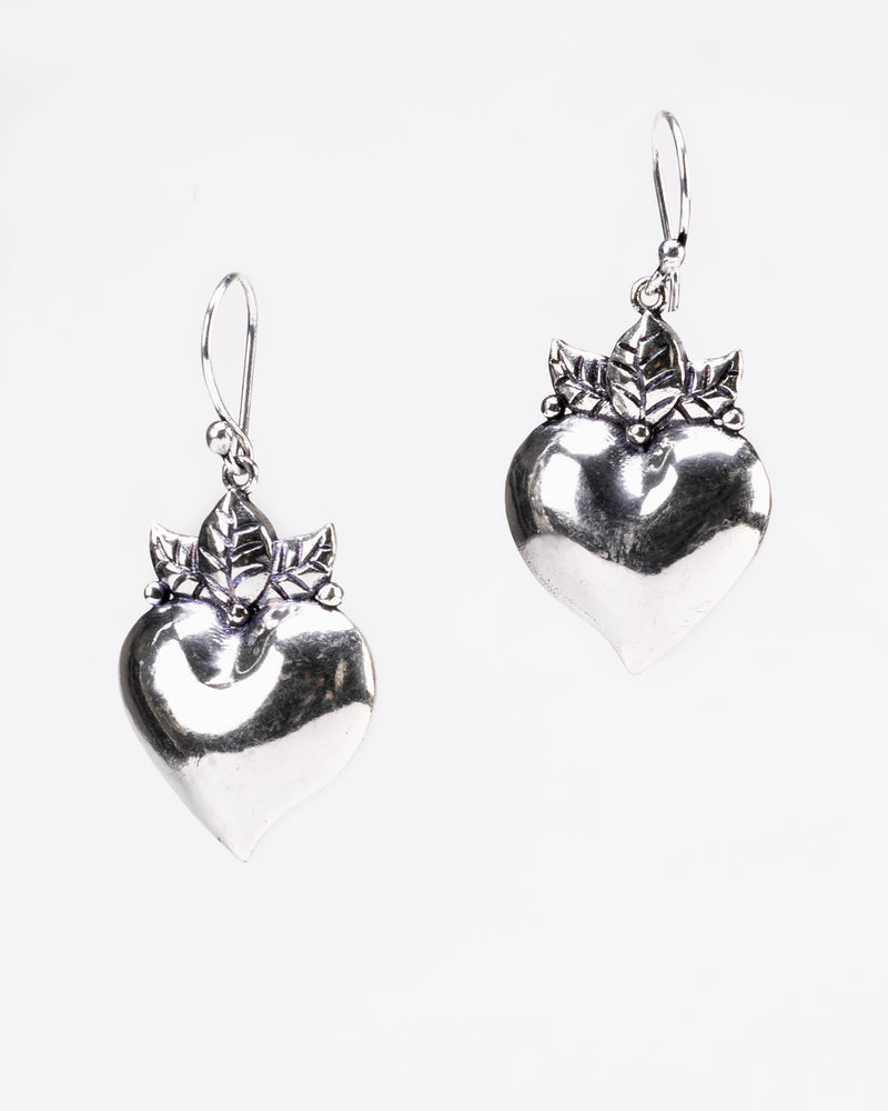A CELEBRITY FAVORITE: Silver Pure Love Earrings