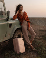 Monos Carry On Suitcase - Modern Minimalist Luggage