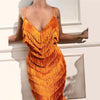 2018 Long Evening Dress Formal Dress Vestido Mermaid Spaghetti Strap Prom Dresses