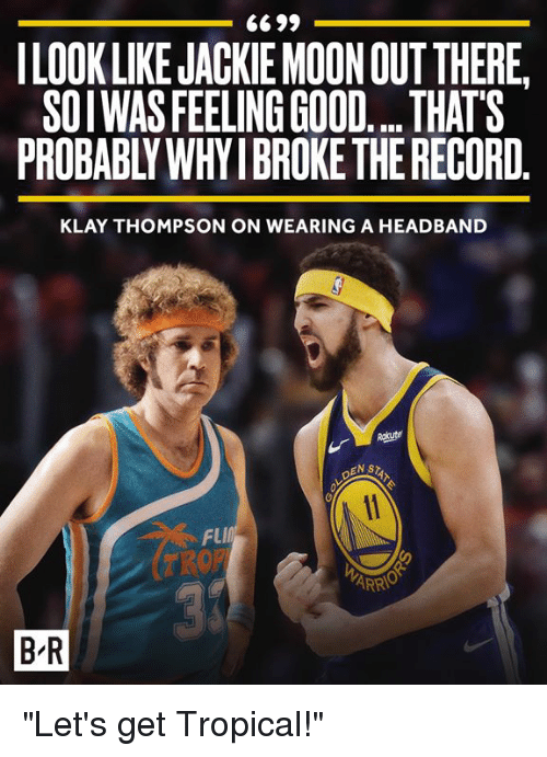 Klay Thompson Jackie Moon