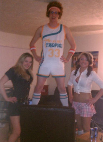 Jackie Moon Costume With Sexy Babes