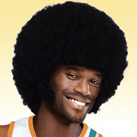 Coffee Black Afro Wig