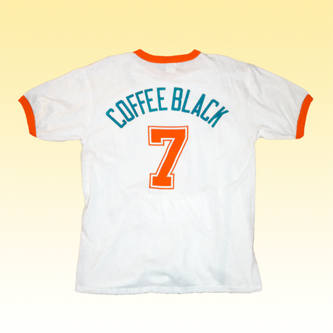 Coffee Black Jersey T-Shirt