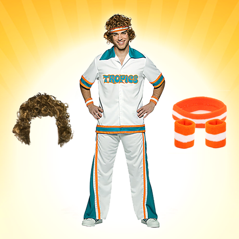 flint tropics warmup costume set