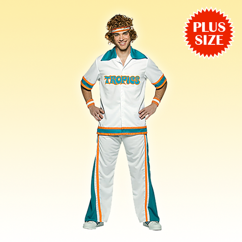 Flint Tropics Semi-Pro Warmup Plus Size
