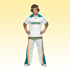 Flint Tropics Semi-Pro Warmup Costume