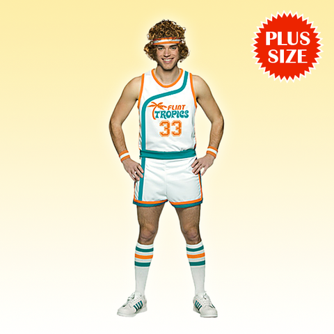 Semi-Pro Jackie Moon Costume Plus Size