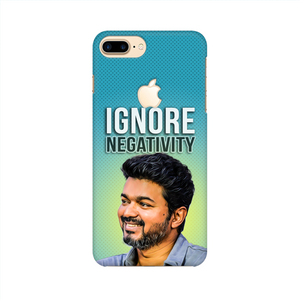 "IPHONE CASE - Thalapathy Special ""Ignore Negativity"""