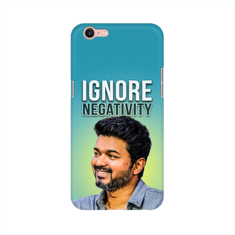 "Oppo Phone Cases - Thalapathy Special ""Ignore Negativity"""