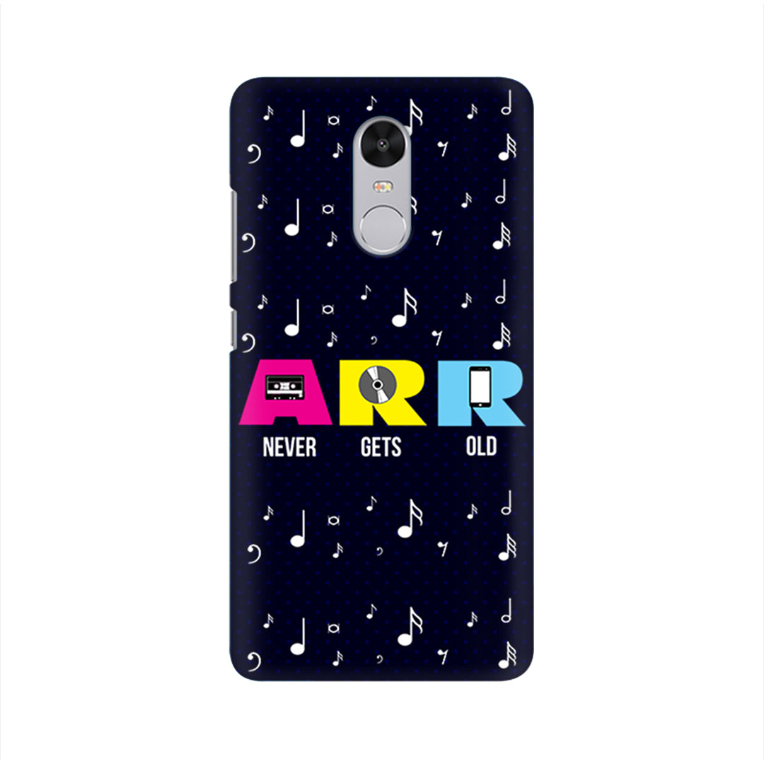 "Redmi Phone Case - AR Rahman Music ""Never Gets Old"""