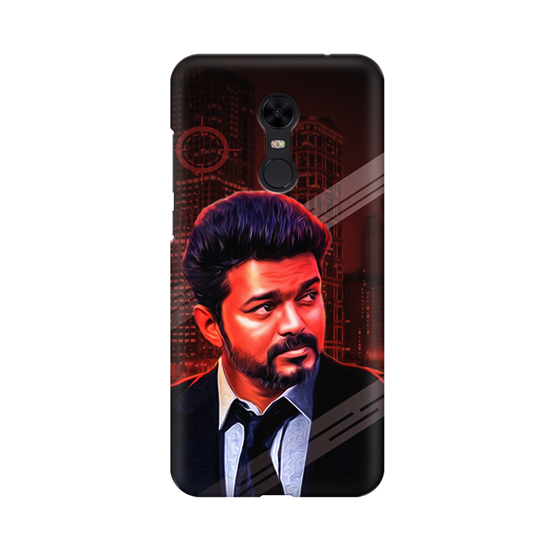 "Redmi Phone Cases - Thalapathy Special ""Elegant"""