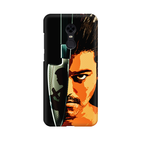 "Redmi Phone Cases - Thalapathy Special ""Kaththi Tribute"""