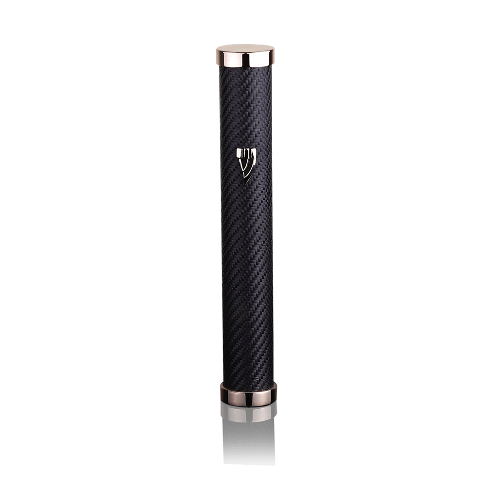 Mezuzah Jerusalem Carbon Black