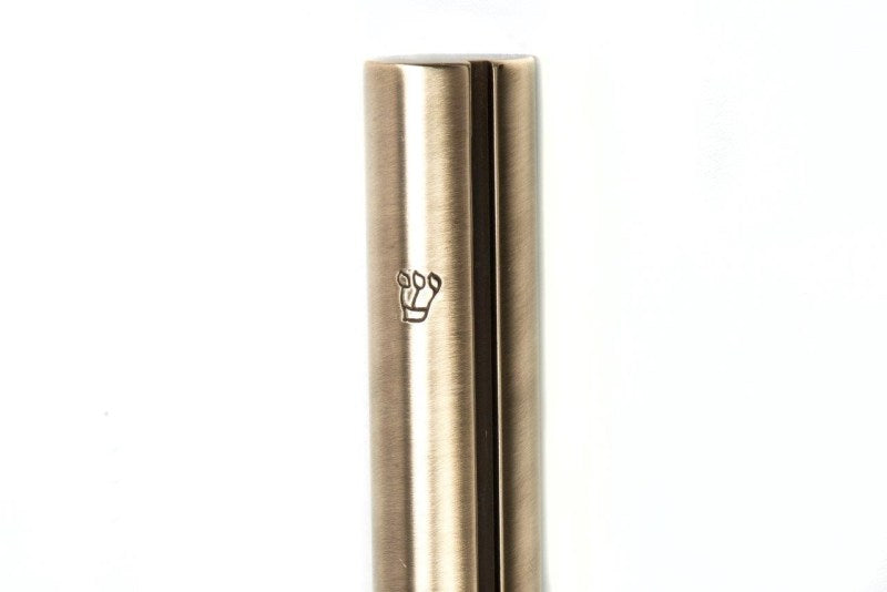 Round Mezuzah with Slot