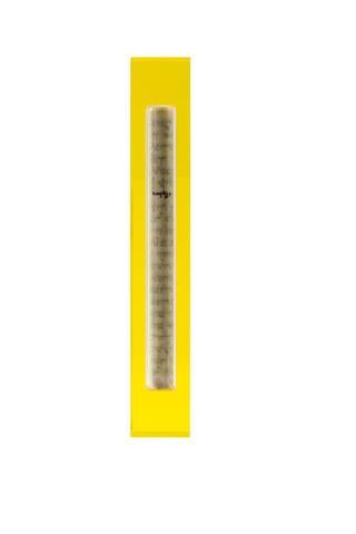 The Lucite Mezuzah Large Yellow