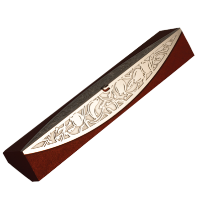 Pomegranate Mezuzah Red