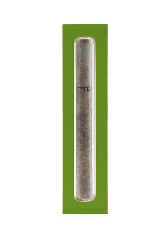 The Lucite Mezuzah Small Emerald