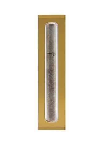 The Lucite Mezuzah Small Honey