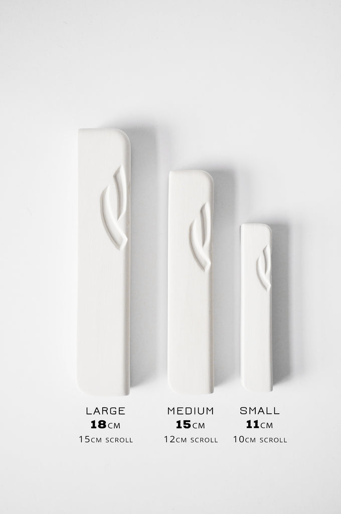 Ceramic Mezuzah Dark Grey