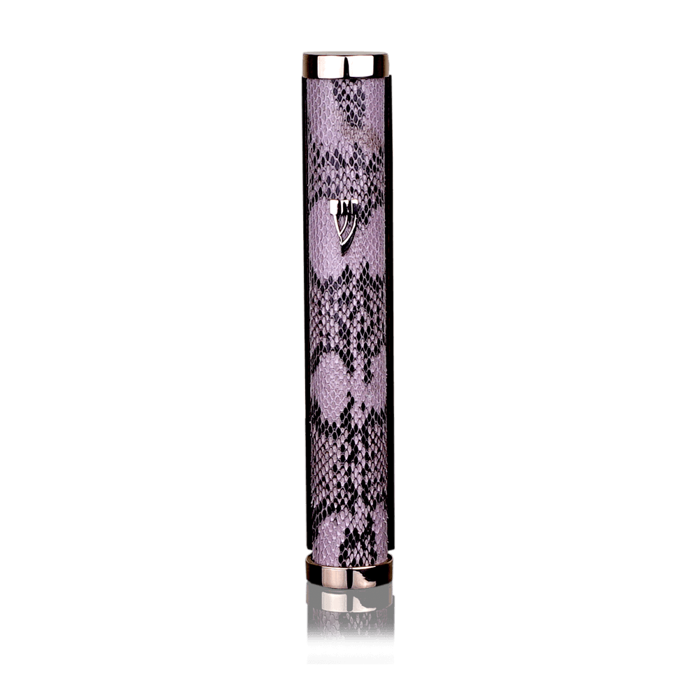 Mezuzah Jerusalem Python Black and Pink