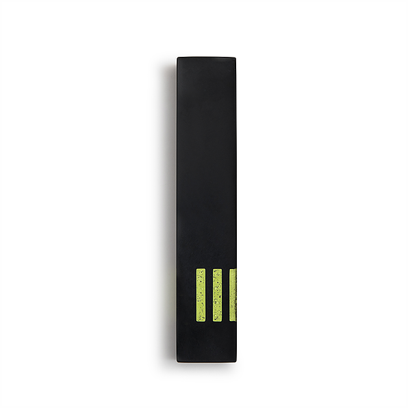 MEZUZAH | Black Narrow | (ש) Side - Green