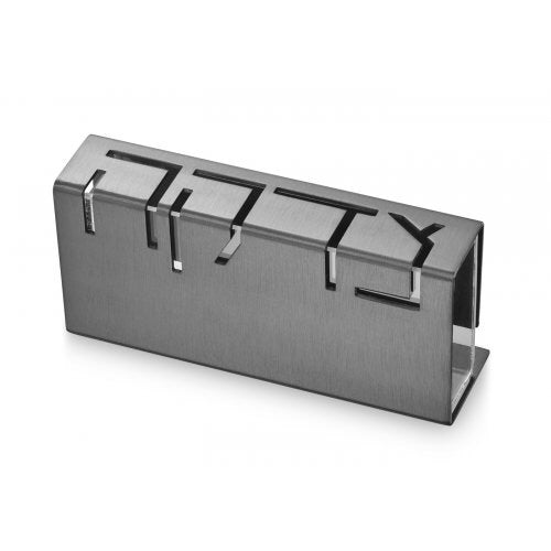 Tzedakah Box Grey