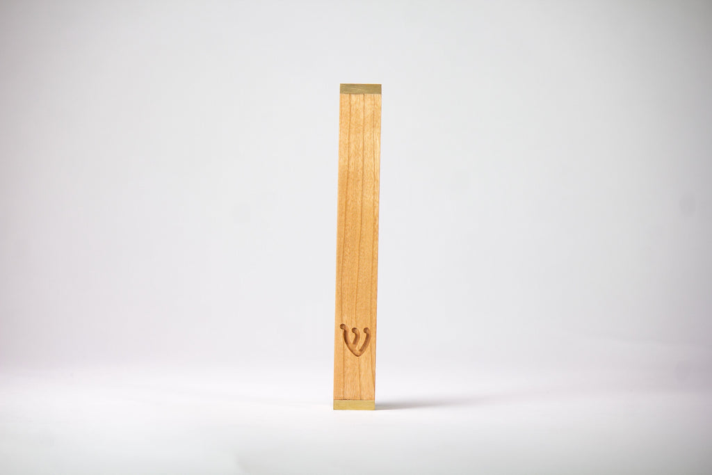 Cherry Wood Mezuzah