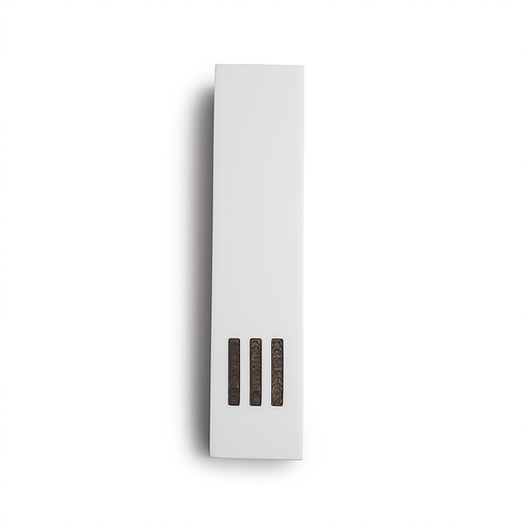 MEZUZAH | White Narrow | (ש) Side - Gray