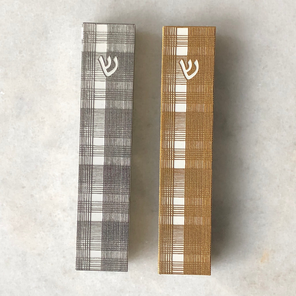 Prince of Wales 26 Mezuzah Gold Series