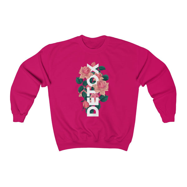 Detox Rose Sweatshirt