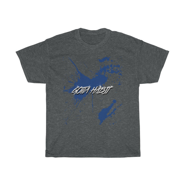 Gotta Habit Merch Blue T-Shirt