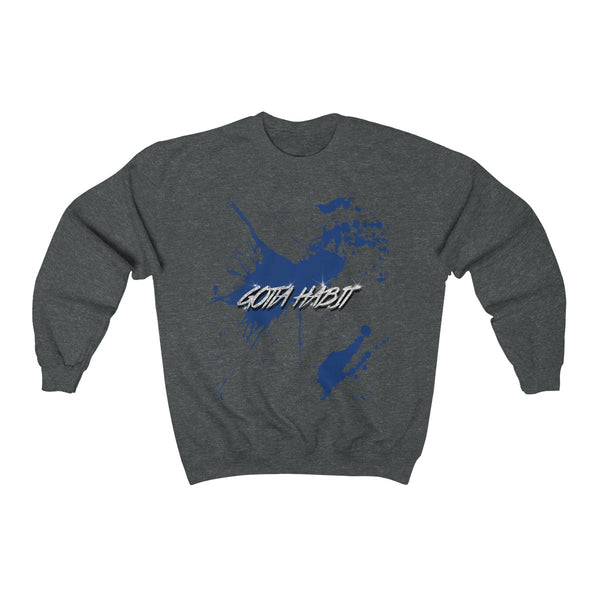 Gotta Habit Merch Blue Sweatshirt