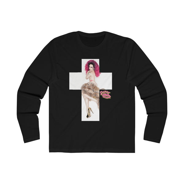 Cross 2X With Detox Lips Long Sleeve Tee