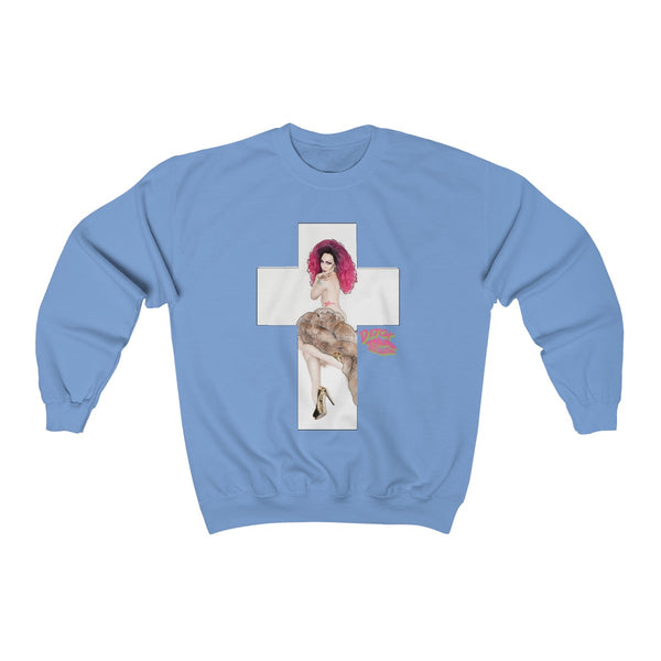X Cross With Detox Lip' Sweatshirt