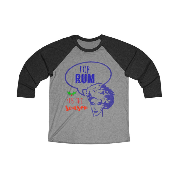 Happy Fucking RUM Long Sleeve Raglan
