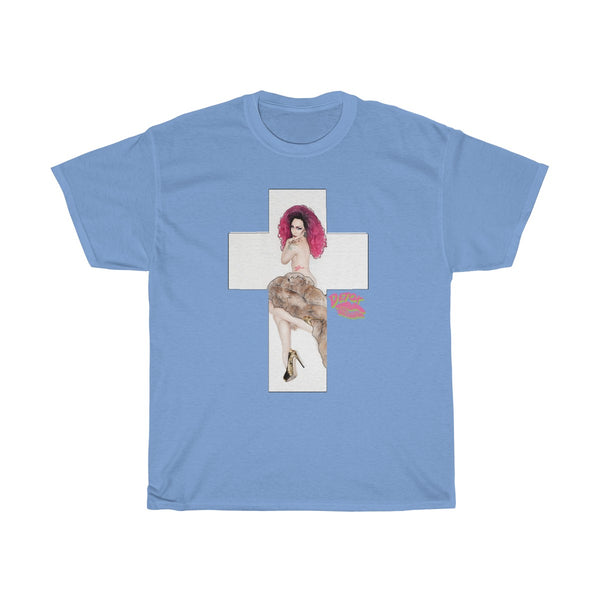 X Cross With Detox Lip' Tshirt